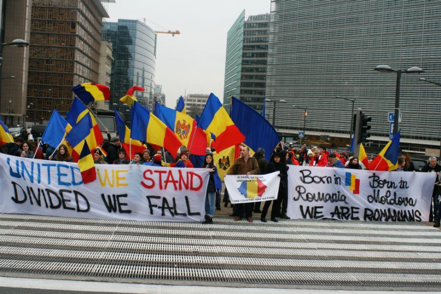 Mesaj la Bruxelles: România și Republica Moldova, o singură națiune, o singură țară