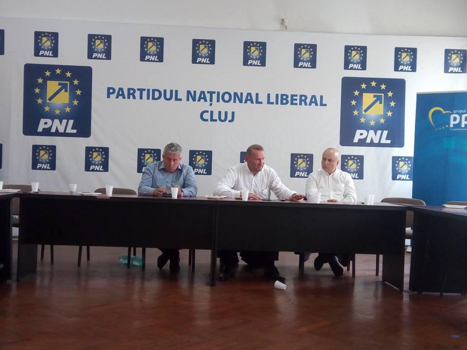 """Viorel Cataramă, la Cluj: """"Dacă voi fi ales președinte PNL duc partidul la 47%"""""""
