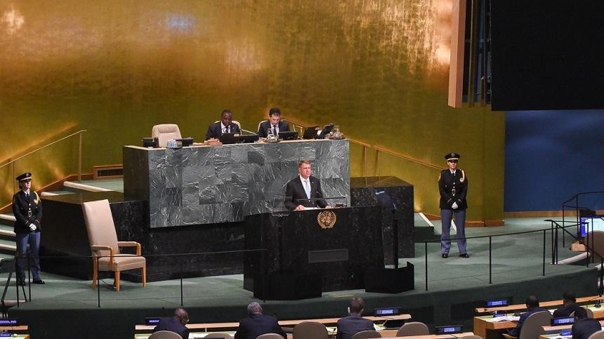 Iohannis la ONU: În contextul creşterii violenţei şi a dezinformării, România este convinsă că doar prin educaţie de calitate putem contracara tendinţele extremiste cu care se confruntă tinerii