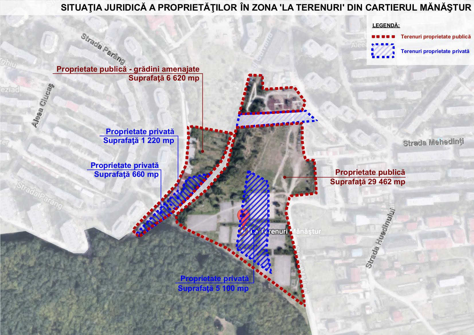 USR Cluj propune ca zona La Terenuri să fie cel mai mare spațiu public al cartierului Mănăștur.