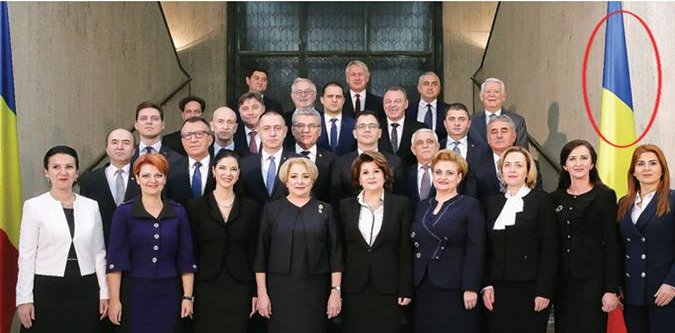 Platforma România 100 semnalează o greşeală de protocol la învestirea Guvernului Dăncilă!