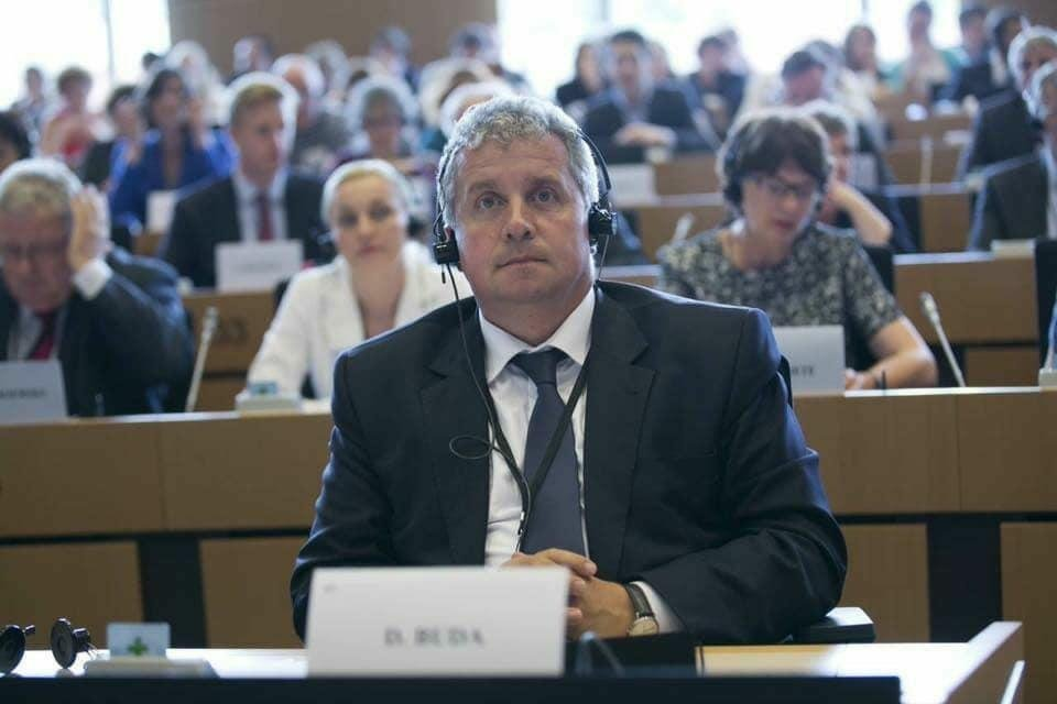 Daniel Buda şi-a anunţat candidatura pentru încă un mandat de europarlamentar