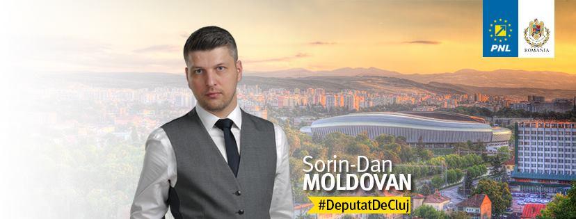 Deputatul PNL Sorin Moldovan și-a prezentat raportul activității parlamentare după doi ani de la preluarea mandatului!