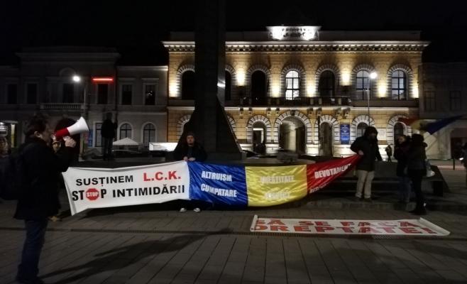 Protest palid pro Kovesi la Cluj