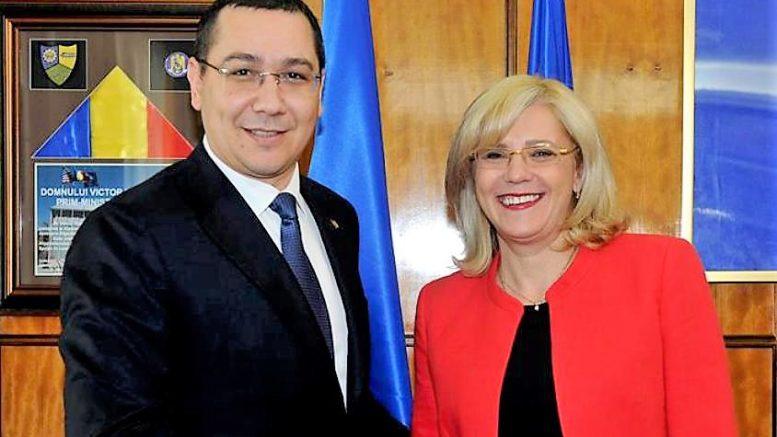 Vizită la Cluj a liderului PRO România, Victor Ponta, alături de comisarul regional Corina Creţu!