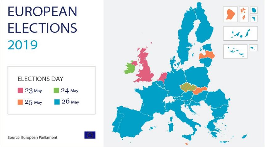 Cinci cifre ale alegerilor europarlamentare!