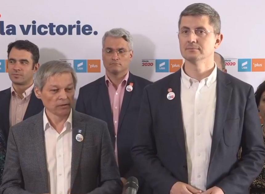 """Mesaj de unitate a liderilor Alianței USR-PLUS, Dacian Cioloș și Dan Barna: """"Vom merge mai departe împreună"""""""