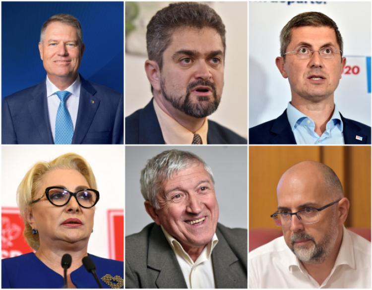 BEC: Rezultate partiale pe județul Cluj: Iohannis a câștigat detașat, Barna pe locul 2 și Dăncilă pe 3