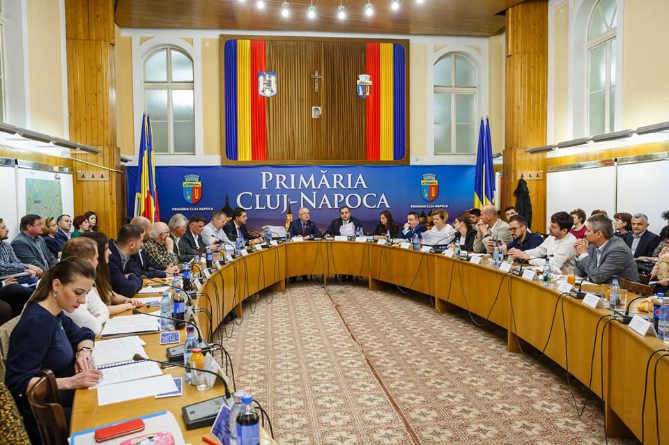 Cum arată noua componență a Consiliului Local Cluj-Napoca? PNL are din nou majoritate