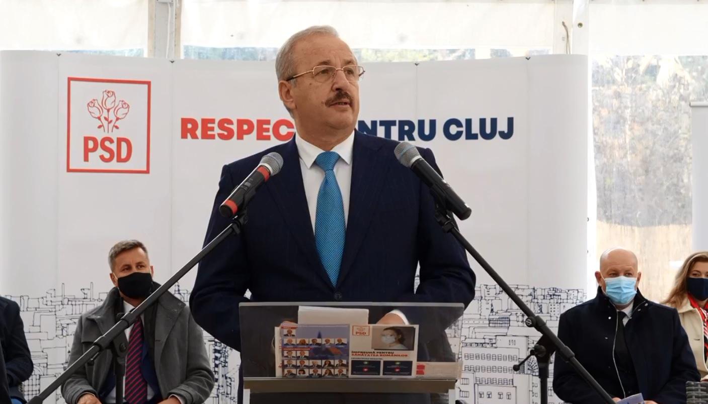 """""""Generosul"""" Vasile Dâncu, darnic în campanie cu colegii din PSD Cluj! A acordat împrumuturi de peste 700.000 de lei!"""