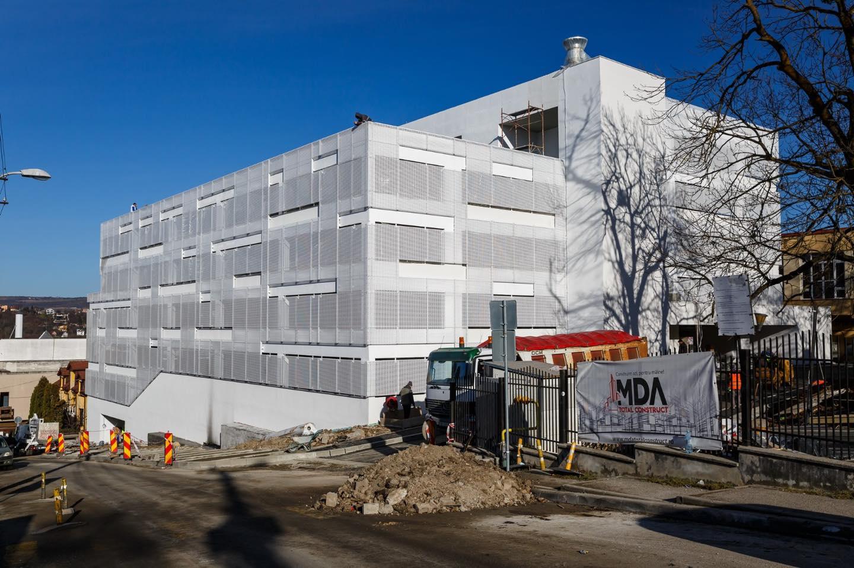 Un nou parking va fi finalizat la Cluj-Napoca