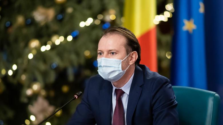 """Premierul Florin Cîțu anunță că se vaccinează anti-COVID: """"Când îmi vine rândul"""""""
