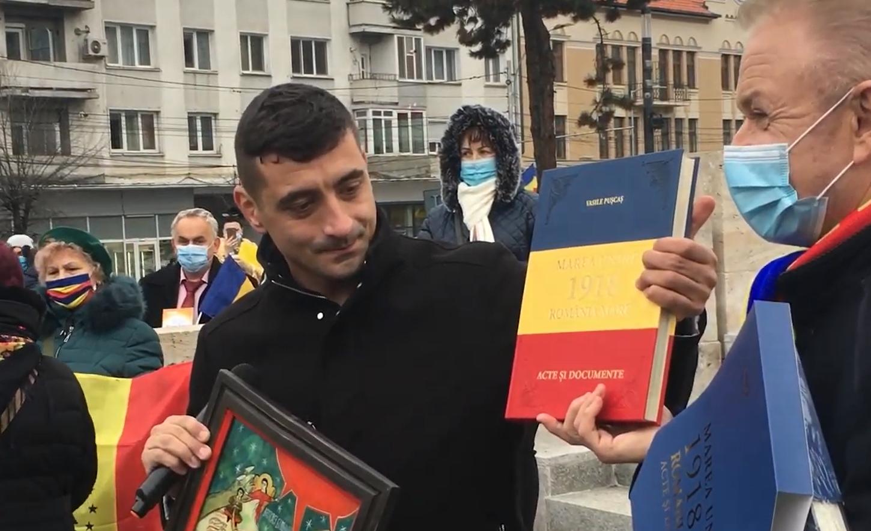 Cu AUR înainte. Liderul partidului momentului a venit la Cluj – VIDEO-REPORTAJ