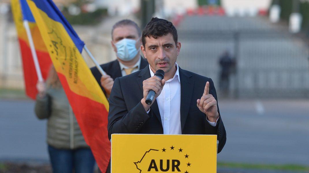 "George Simion: ""Ancuța Cârcu nu e membru AUR"""