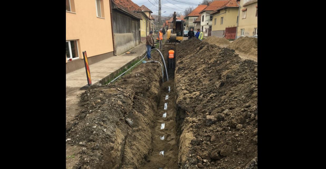 Rețeaua de canalizare în comuna clujeană Câțcău va fi extinsă
