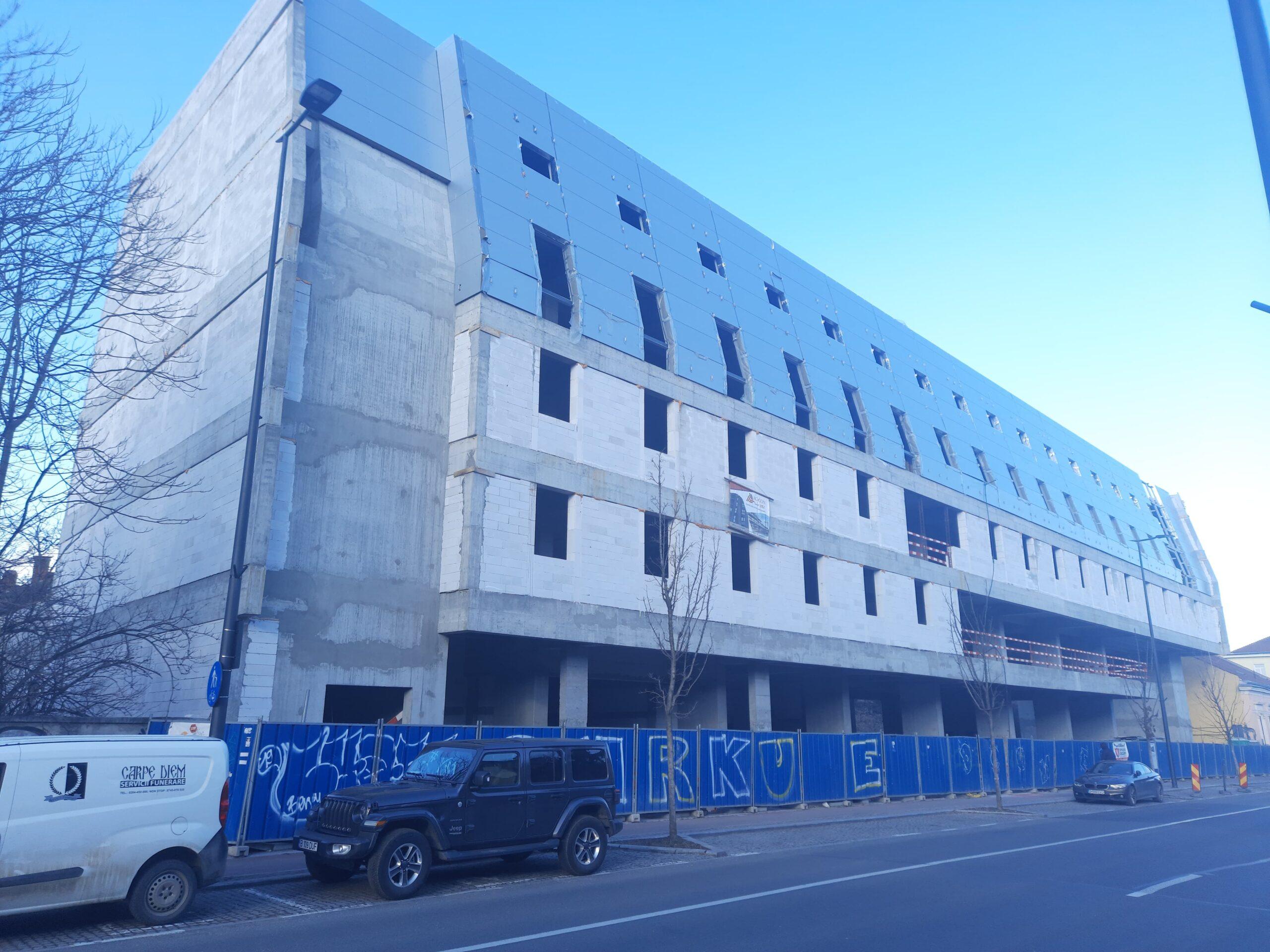 """Primarul Boc, despre controversatul hotel de pe str. Avram Iancu: """"Proiectul a fost respins de trei ori la Cluj și aprobat la București. Legal nu mai avem ce face"""""""