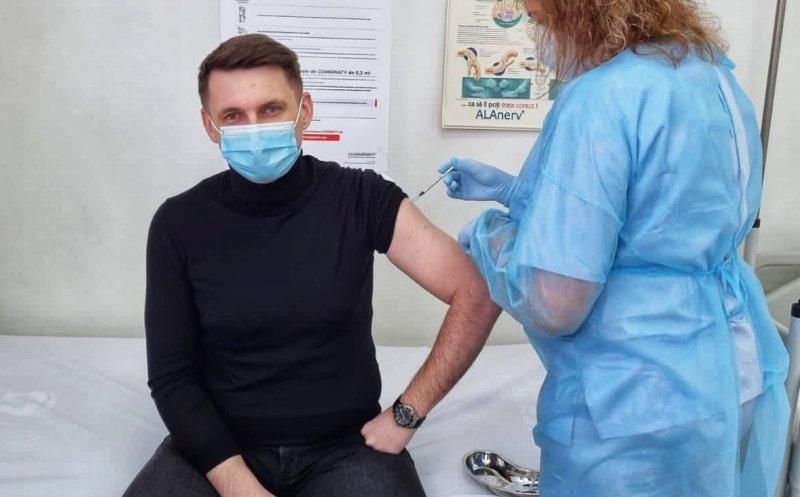 Fostul prefect al Clujului, Mircea Abrudean, s-a vaccinat. Vezi ce a declarat!