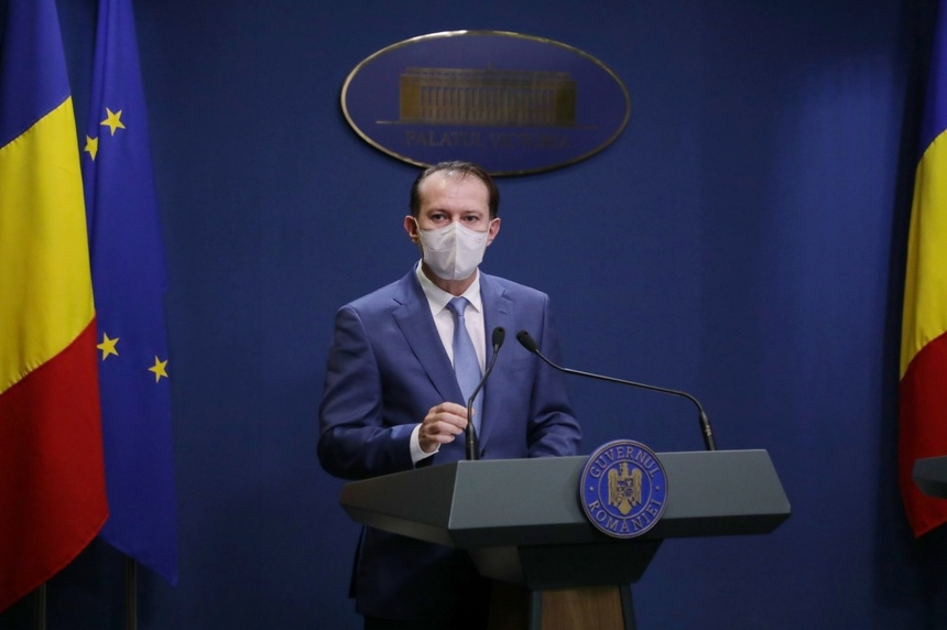 """Cîţu: """"Am cerut ministrului Sănătăţii să prezinte un raport cu măsurile luate din decembrie în perspectiva valului trei al pandemiei"""""""