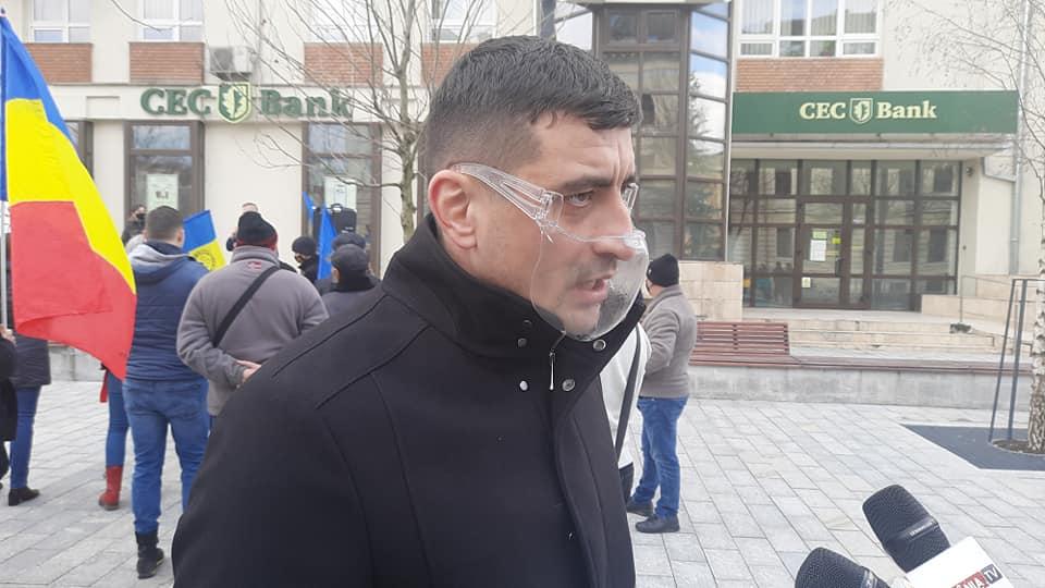 """De la Cluj, liderul AUR George Simion a cerut demisia Guvernului pe motiv că """"și-a dovedit incompetența"""""""